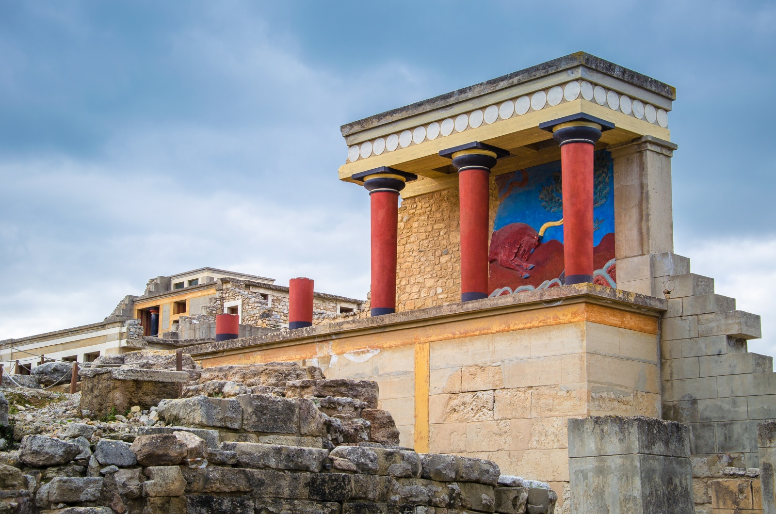 Knossos Palace - Maritimo Beach Hotel Crete
