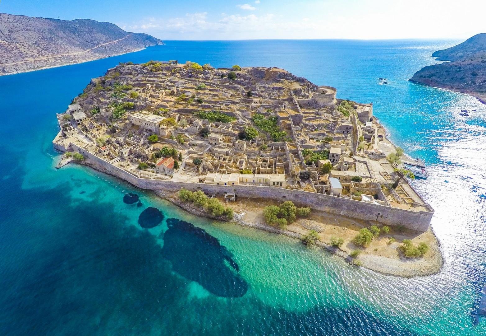 Spinalonga - Maritimo Beach Hotel Crete