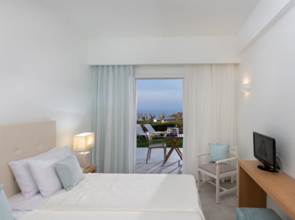 Standard Room Sea View Crete - Maritimo Beach Hotel Crete 1