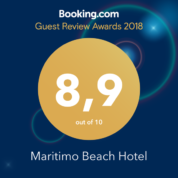 Booking.com Reviews Award - Maritimo Beach Hotel Crete
