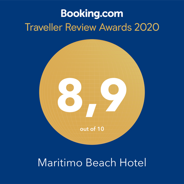 booking.com customer rating badge