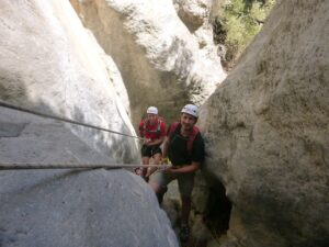 Canyoning Panagia Gorge