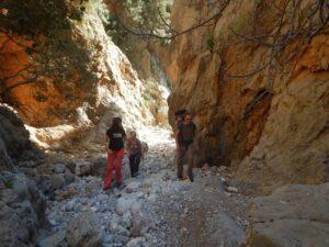 Hiking Kritsa Gorge