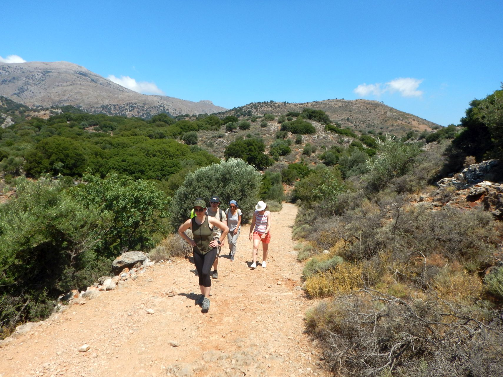 Hiking Kritsa Gorge