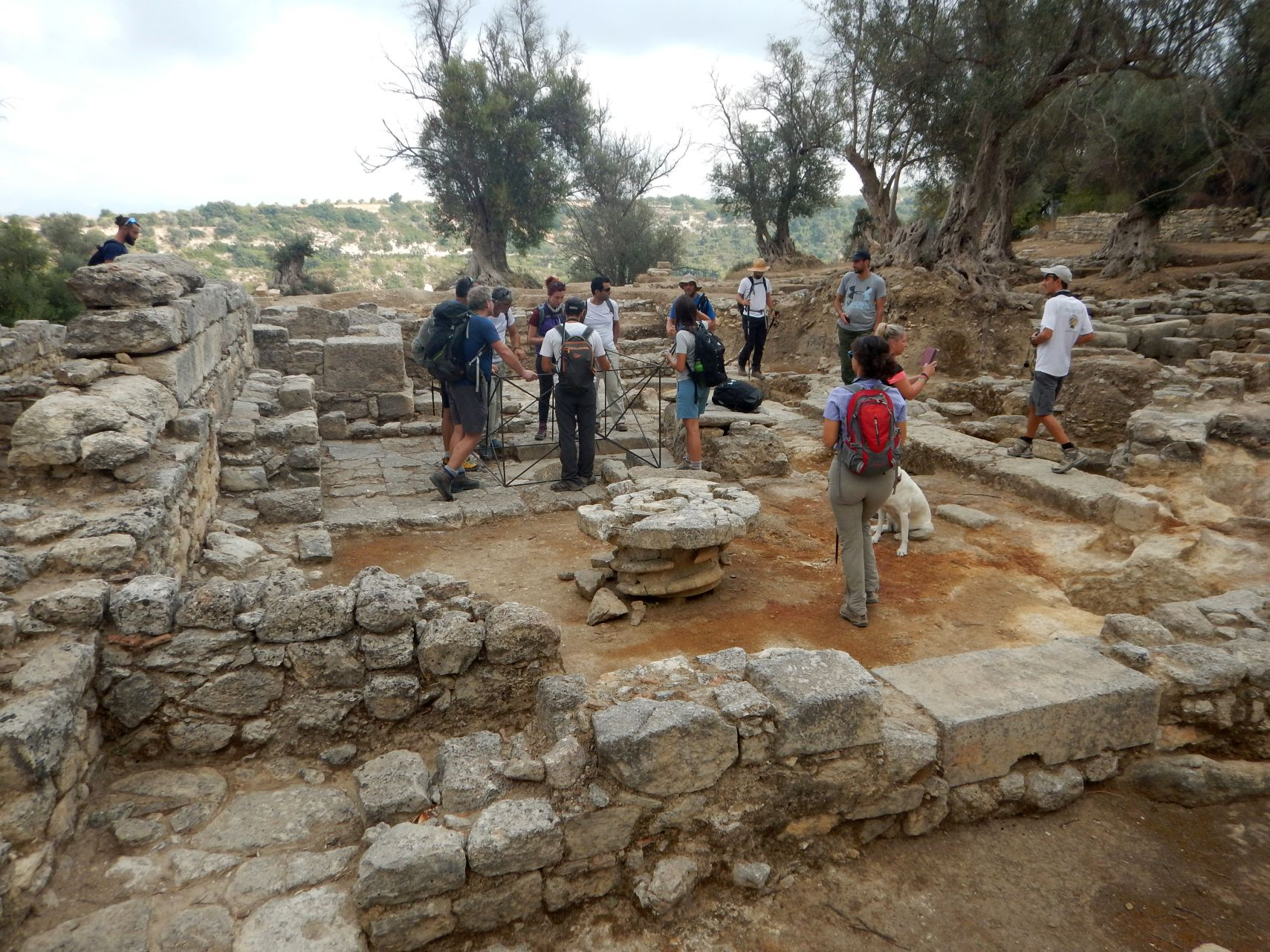 Ancient Eleftherna site