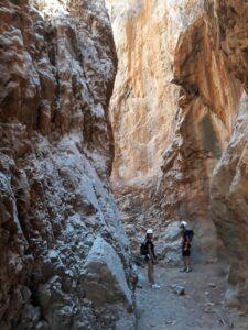 Canyoning Tsoutsouros Gorge
