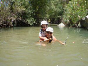 river trekking kourtaliotis gorge